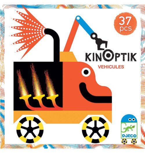 קינופטיק הולוגרמה בתנועה - רכבים 37 חלקים
