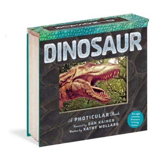 ספר הולוגרמות, פוטיקולר, דינוזאורים